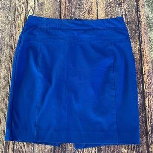 Express Blue Women's Skirt - Size 6